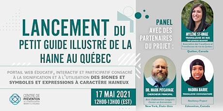 Lancement du portail Web « Petit guide illustré de la haine au Québec » billets