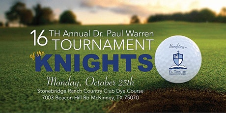 16th Annual Dr. Paul Warren Memorial Tournament of the Knights tickets