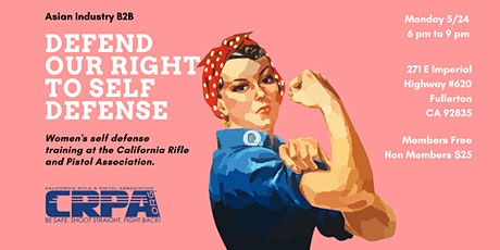 AIB2B Presents Exercising Our Right To Self Defense tickets