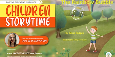 Children Storytime - The Rainbow Bubble with Author Alicia Fadgen tickets