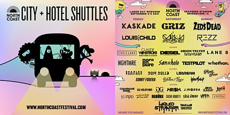 North Coast Express 2021 - OFFICIAL SHUTTLES tickets