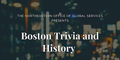 Boston Trivia and History tickets