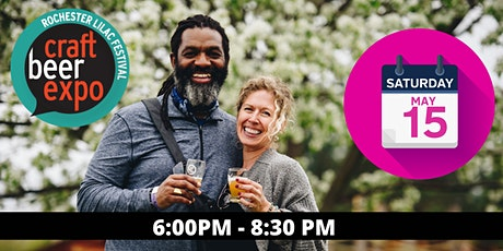 The Rochester Lilac Festival Craft Beer Expo: Saturday May 15th: 6:00 PM tickets