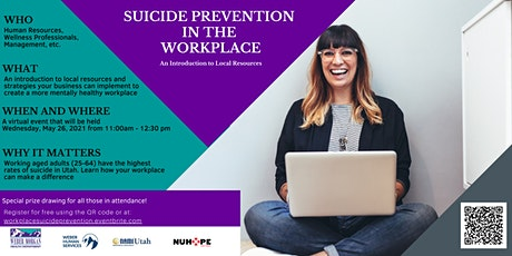 Suicide Prevention in the Workplace: An Introduction to Local Resources tickets