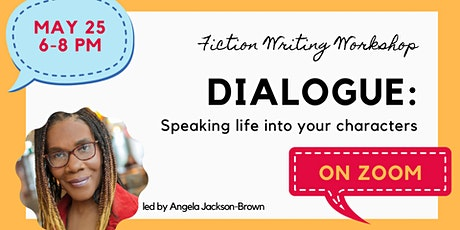 Dialogue:  Speaking Life into Your Characters tickets