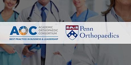2021 Academic Orthopaedic Business & Leadership Symposium tickets