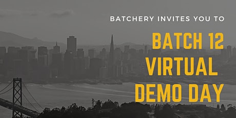 Batch 12 Virtual Demo Day tickets