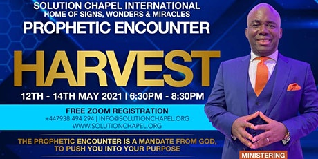 Prophetic Encounter - Harvest tickets