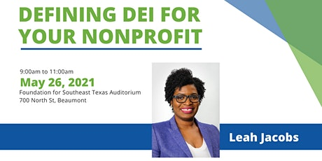 Defining DEI for YOUR Nonprofit tickets