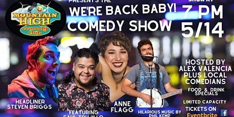 We're Back Baby! Comedy Show tickets