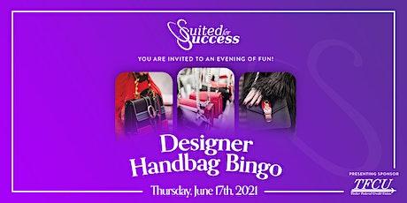 Designer Handbag Bingo tickets