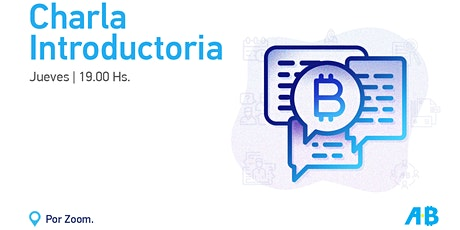 Charla introductoria a Bitcoin y Blockchain tickets