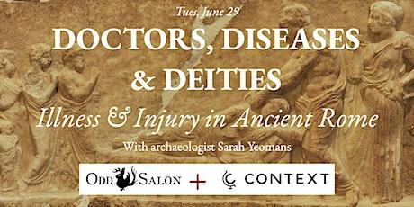 Odd Salon + Context Travel: Doctors,                              Diseases, and Deities tickets