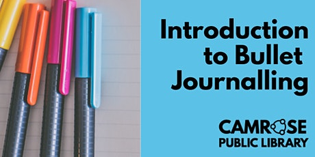 Camrose Public Library - Introduction to Bullet Journals tickets