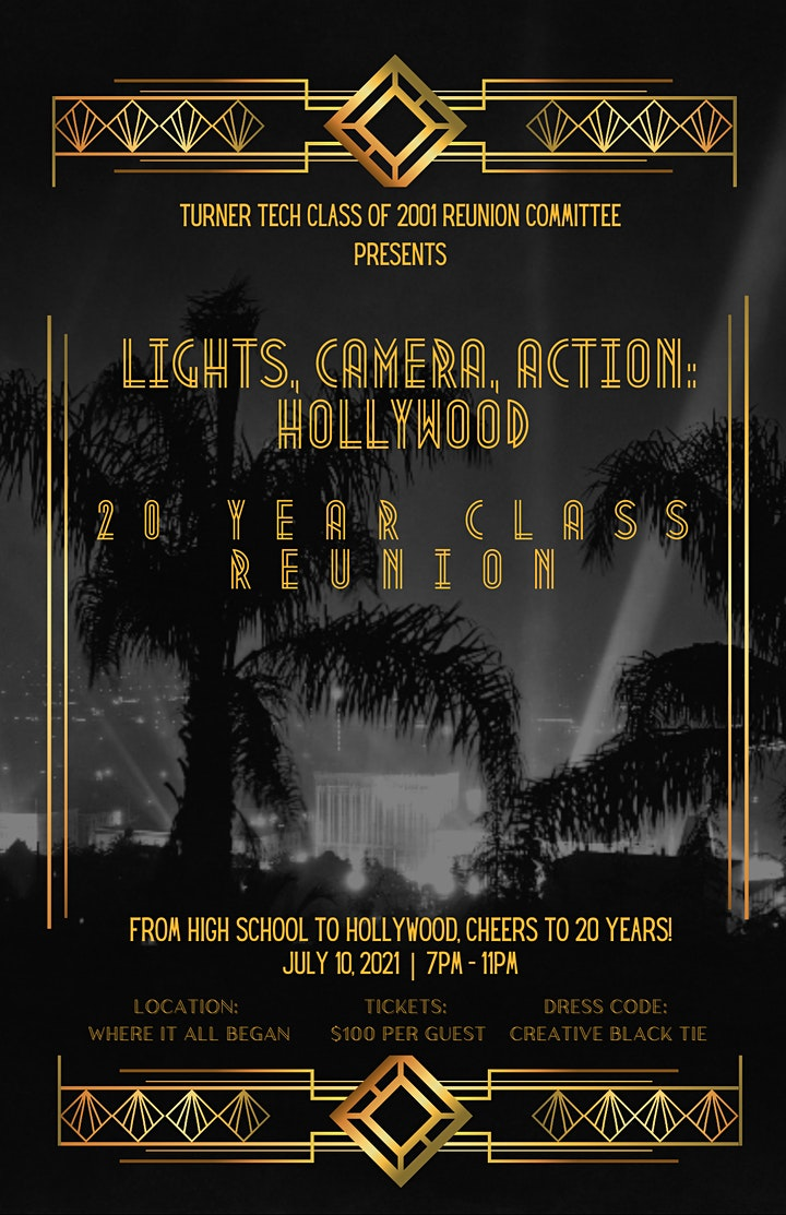 Lights, Camera, Action: Hollywood 20-Year Class Reunion (Turner Tech) image
