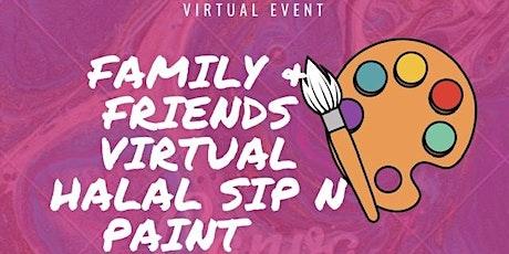 Community Halal Sip & Paint tickets