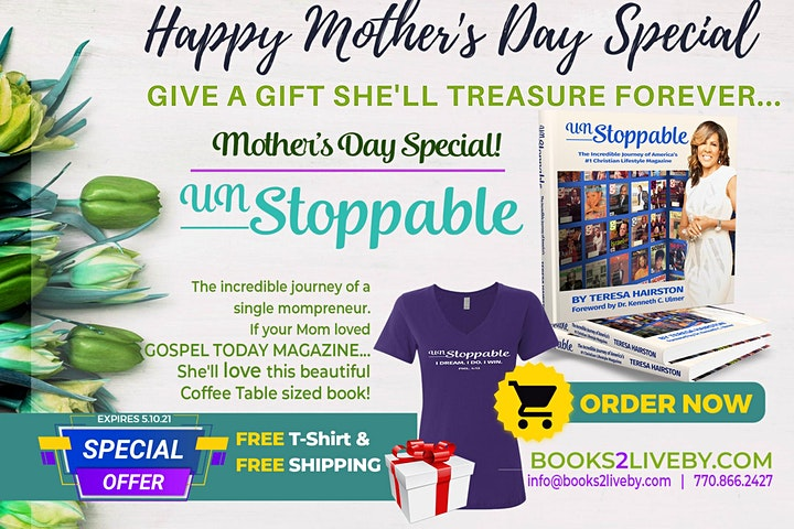 MOTHER'S DAY TRIBUTE to UNSTOPPABLE WOMEN! image