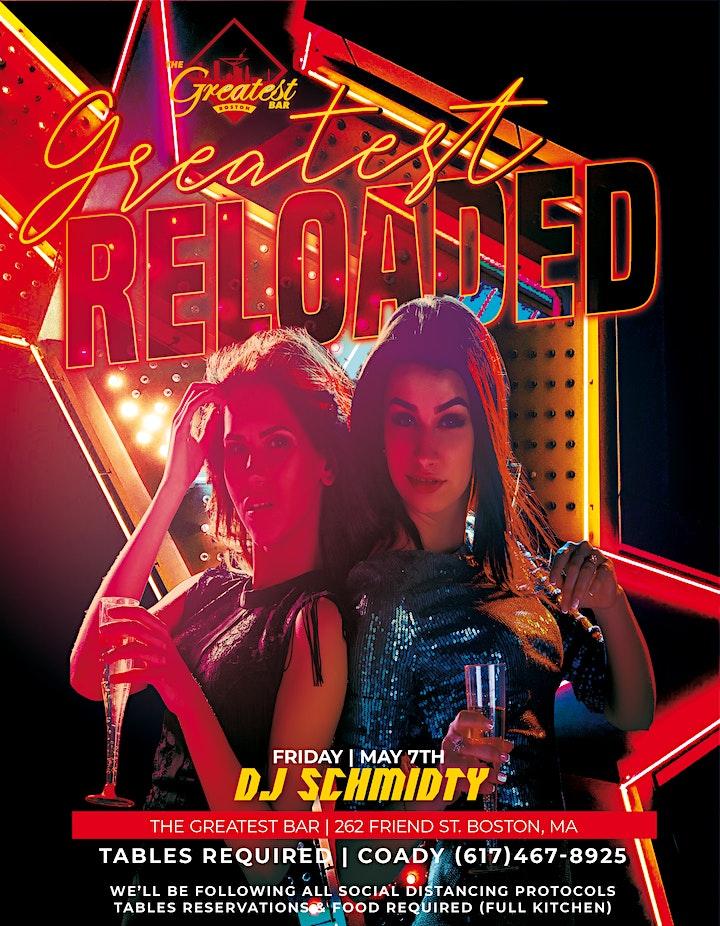 DJ SCHMIDTY |  FRIDAY @ GREATEST BAR image