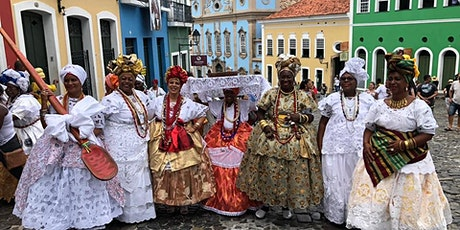 "[VIRTUAL WALKING TOUR] – ""Brazilian Black Rome: Black History of Bahia"" ingressos"