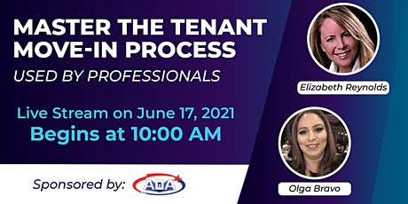 Master the Tenant Move-in Process Used By Professionals tickets