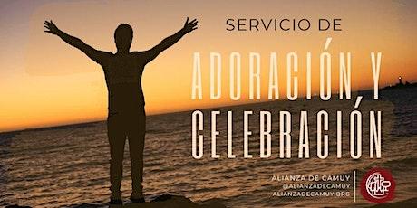 Servicio de Adoración y Celebración - Fase 3 entradas
