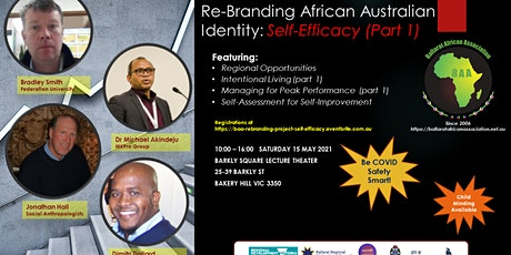 Re-Branding African Australian Identity: Self-Efficacy (Part 1) tickets