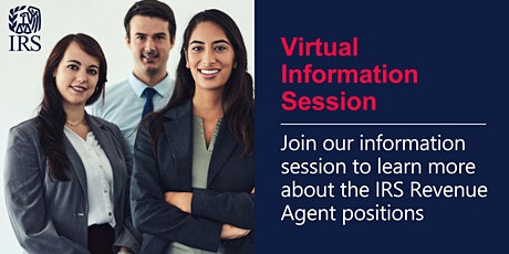 Virtual Information Session about the Revenue Agent position tickets