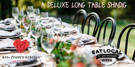 A Deluxe Long Table Shindig @ Mrs Frost's Kitchen tickets