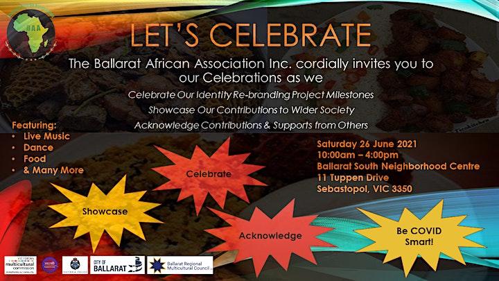 BAA Let's Celebrate Social Event image