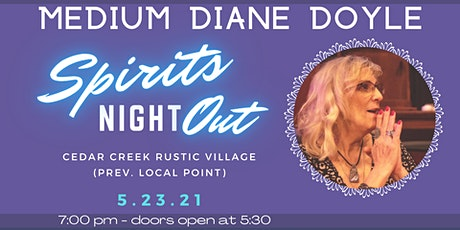 Medium Diane Doyle:  Spirits Night Out tickets