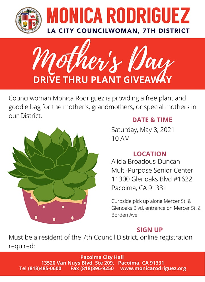 Mother's Day Plant Giveaway image