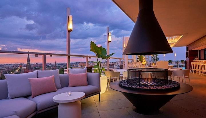 Live Salon: JoAnn Hill @ Hotel Zena Rooftop Bar image