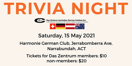 Das Zentrum Trivia Night! tickets