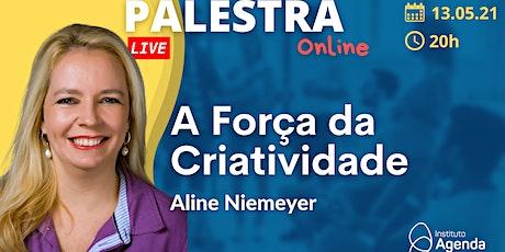 Palestra Online: A Força da Criatividade ingressos