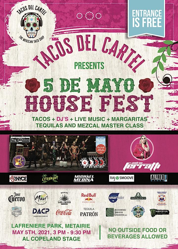 5 de Mayo House Fest image