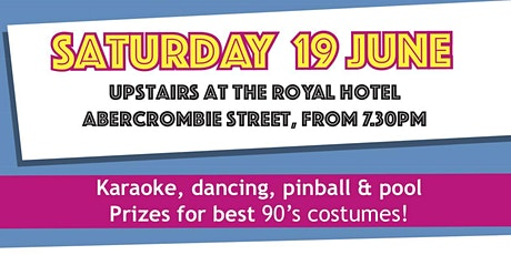 Back to the 90's P&C Fundraiser at the Royal tickets