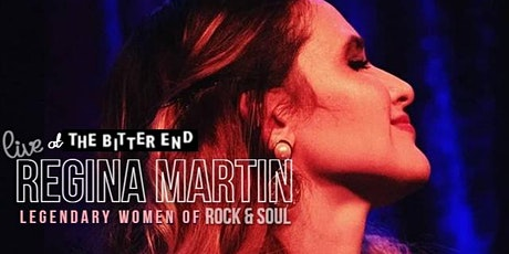 Legendary Women of Rock & Soul: Regina Martin  Live @thebitterend Tables tickets
