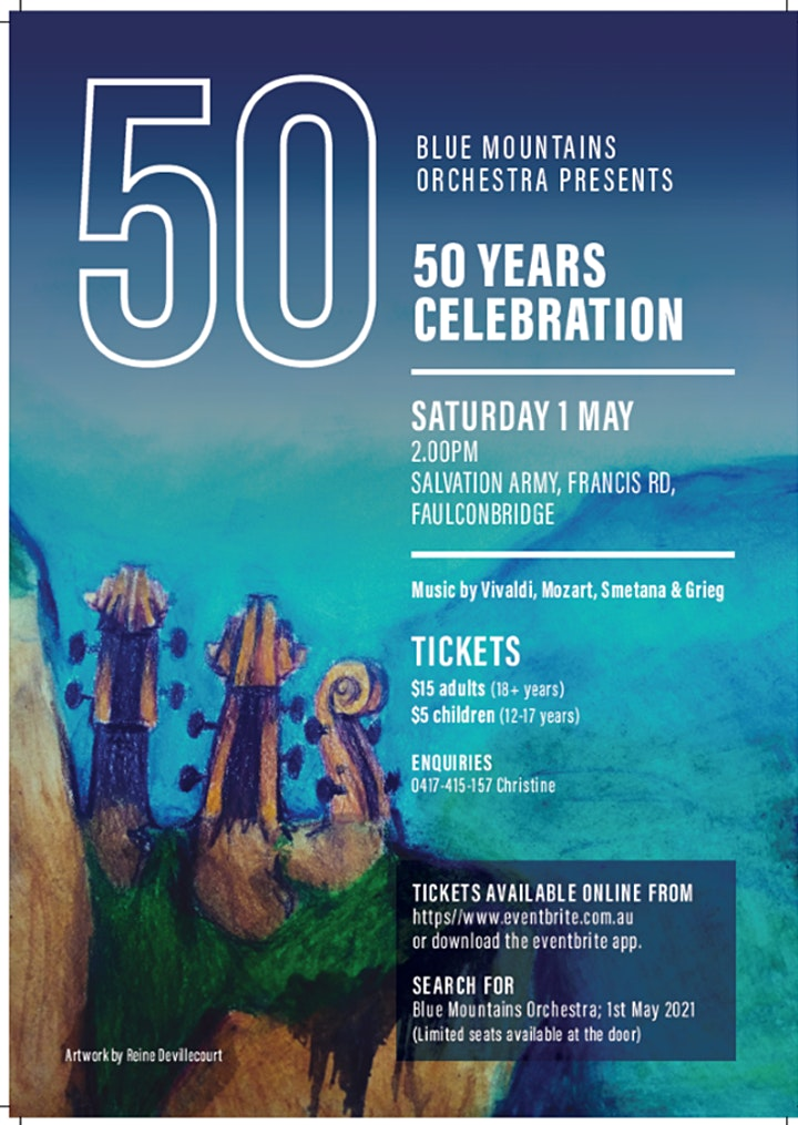 Blue Mountains Orchestra - 50 Years image