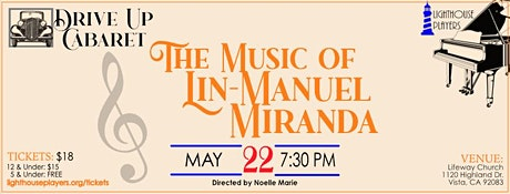 The Music of Lin-Manuel Miranda Lawn Youth Tickets tickets