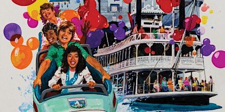 Rediscovering Disneyland Auction Exhibition tickets