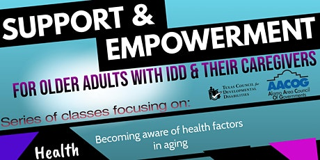 Support & Empowerment for Adults with IDD & Their Caregivers Flash AM tickets