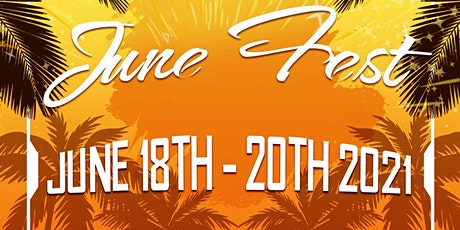JuneFest 2021 June 18-20 ** TICKETS  AVAILABLE NOW ***** tickets