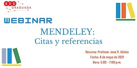 Webinar: Mendeley tickets