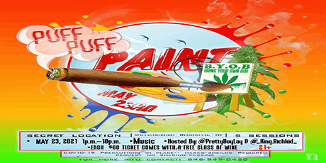 PUFFPUFF PAINT tickets