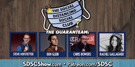 Social Distancing Social Club biglietti