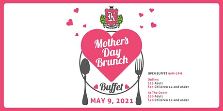Mother's Day Brunch Buffet tickets