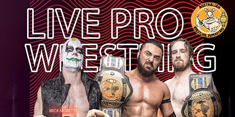 AUSTRALIAN WRESTLING SUPERSTARS PRESENTS LIVE PRO WRESTLING tickets