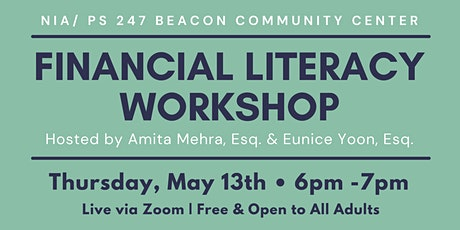 PS 247 Financial Literacy Workshop tickets