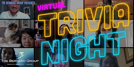 The Bernard Group Presents... Virtual Trivia Night tickets