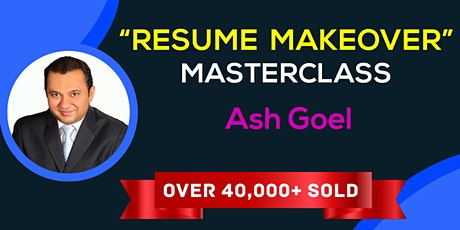 The Resume Makeover Masterclass — Brussels tickets